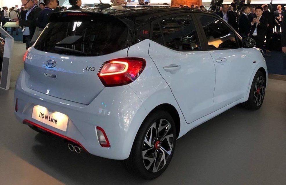 2020 Hyundai i10 N Line Rear