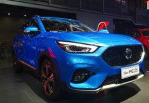 2020 MG ZS Facelift Chegdu Motor Show