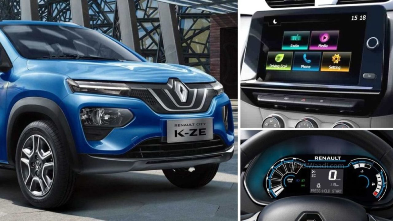 2020 Renault Kwid Facelift Spied With Triber's 8-Inch Touchscreen, Speedometer