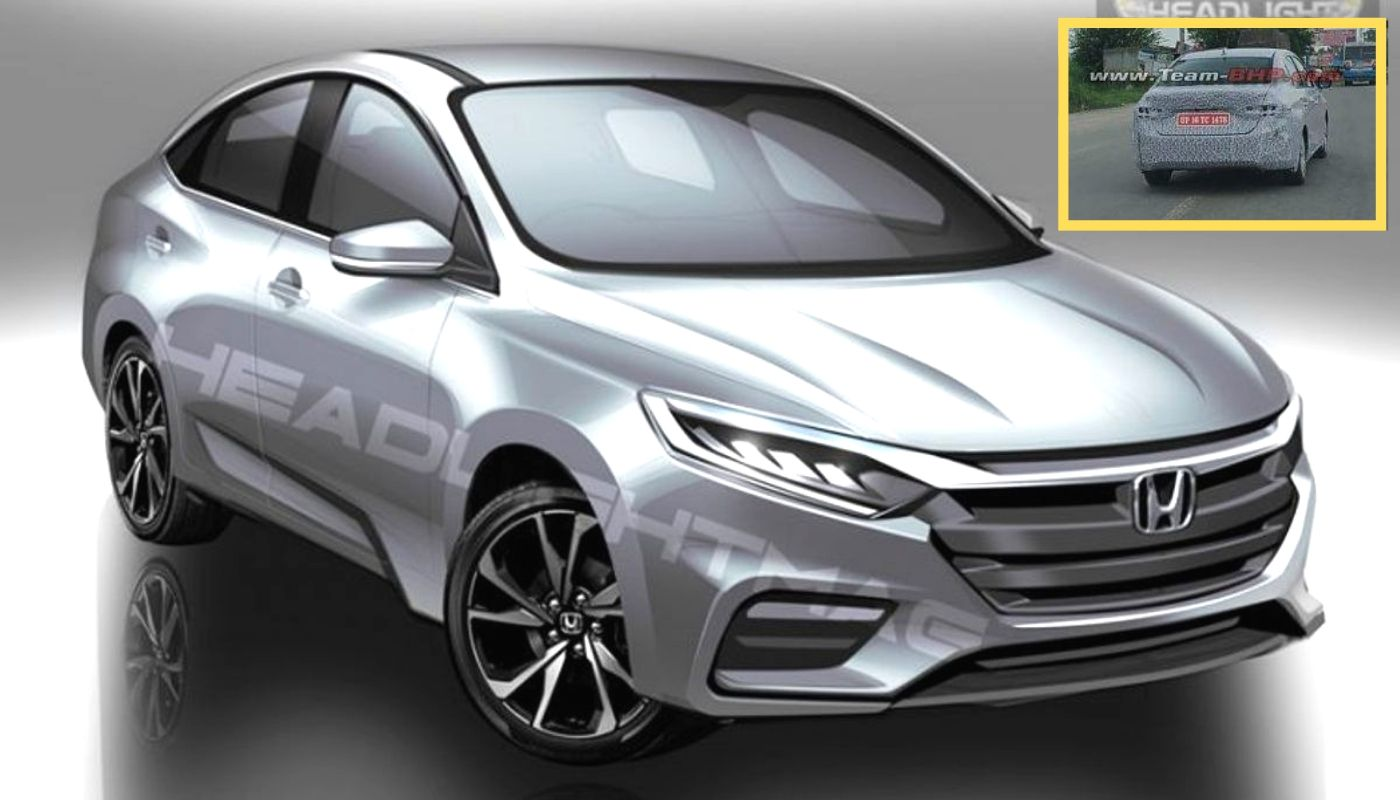 2020 Honda City Spotted In India For The First Time, Debut At Auto Expo - GaadiWaadi.com thumbnail