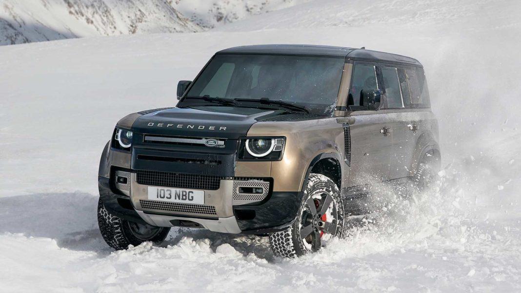 2020 tata land rover defender front