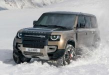 2020 tata land rover defender front