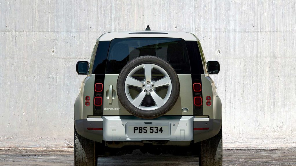 2020 tata land rover defender rear