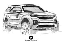 2020 tata safari rendering