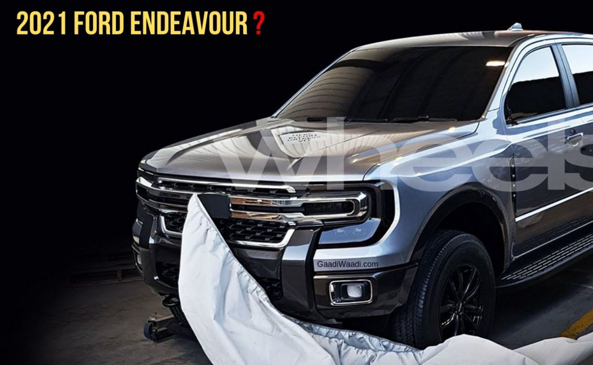 2021 Ford Endeavour Could Look Like This In Aggressive Manner