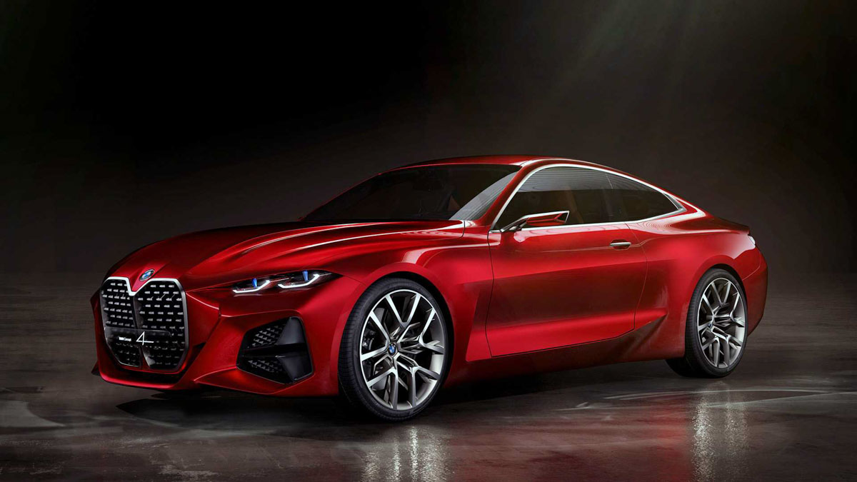 BMW Concept 4 previews the next 4 Series Coupe