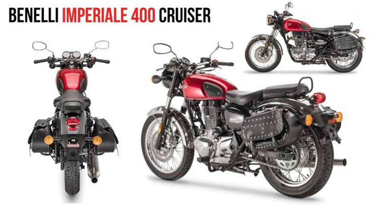 Benelli Imperiale 400 Booking 1