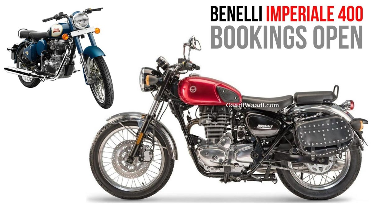 Benelli Imperiale 400 Booking