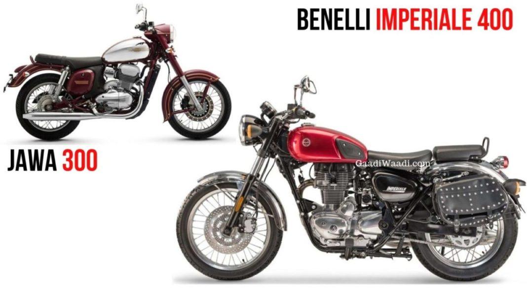 Benelli Imperiale 400 VS Jawa 300 Spec Comparison