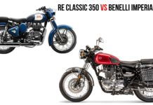 Benelli Imperiale 400 VS Royal Enfield Classic 350 - Specs Comparison