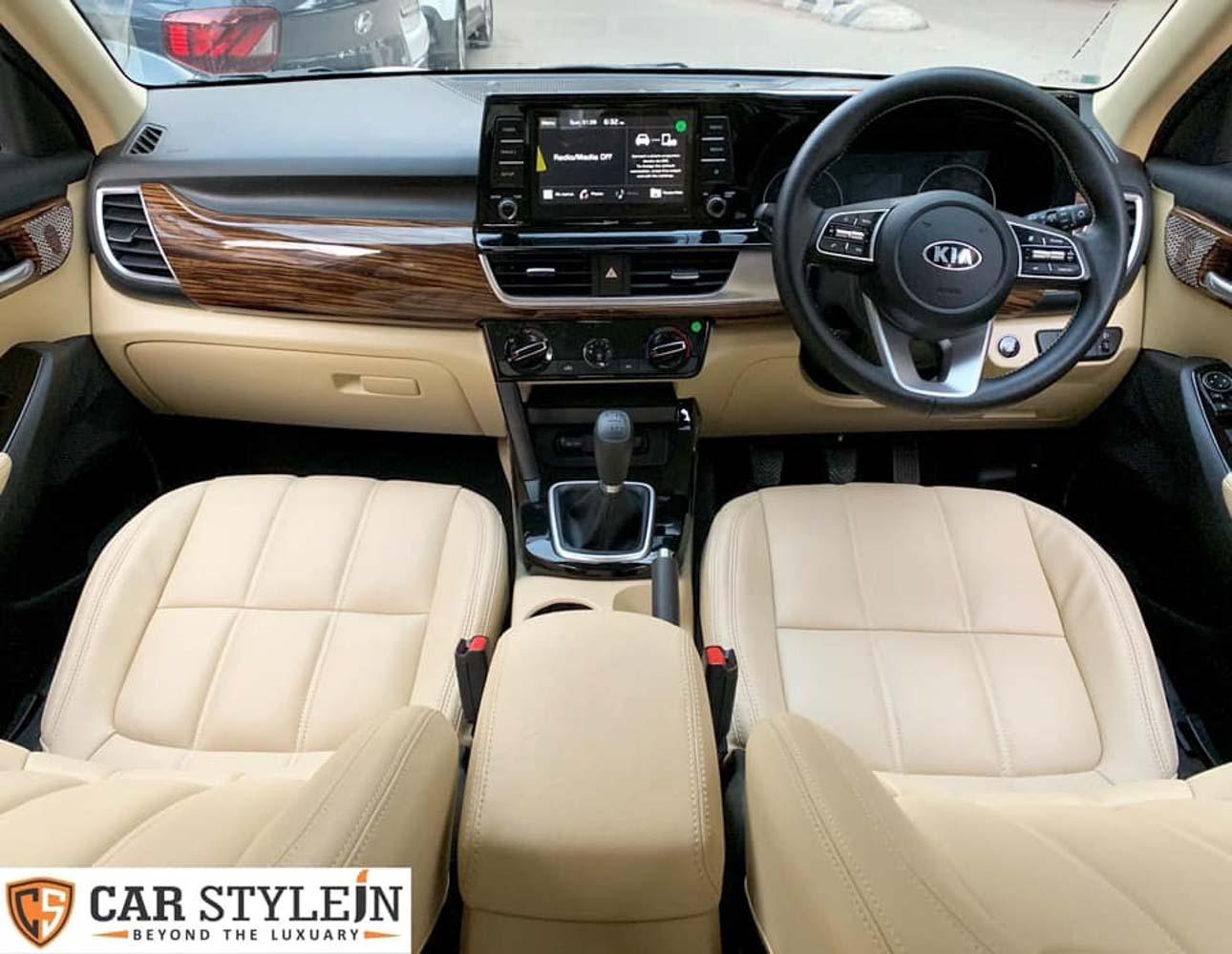 Kia Seltos Customized With Luxurious Cabin Looks Opulent