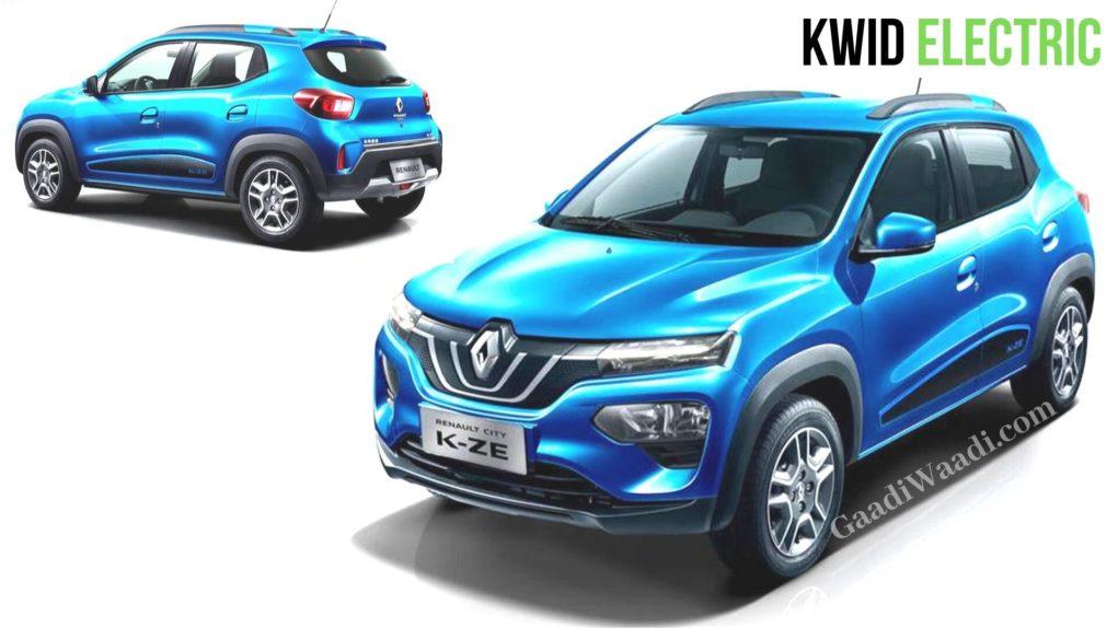 Renault Kwid Electric hatchback with 271 Kms range costs