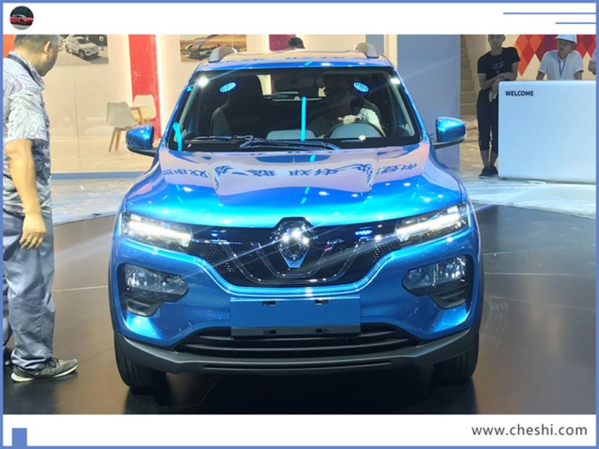 Renault K-ZE (Kwid Electric) Launched In China 2