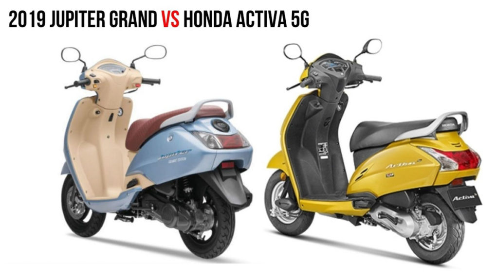 TVS Jupiter Grande Edition VS Honda Activa 5G 2
