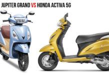 TVS Jupiter Grande Edition VS Honda Activa 5G