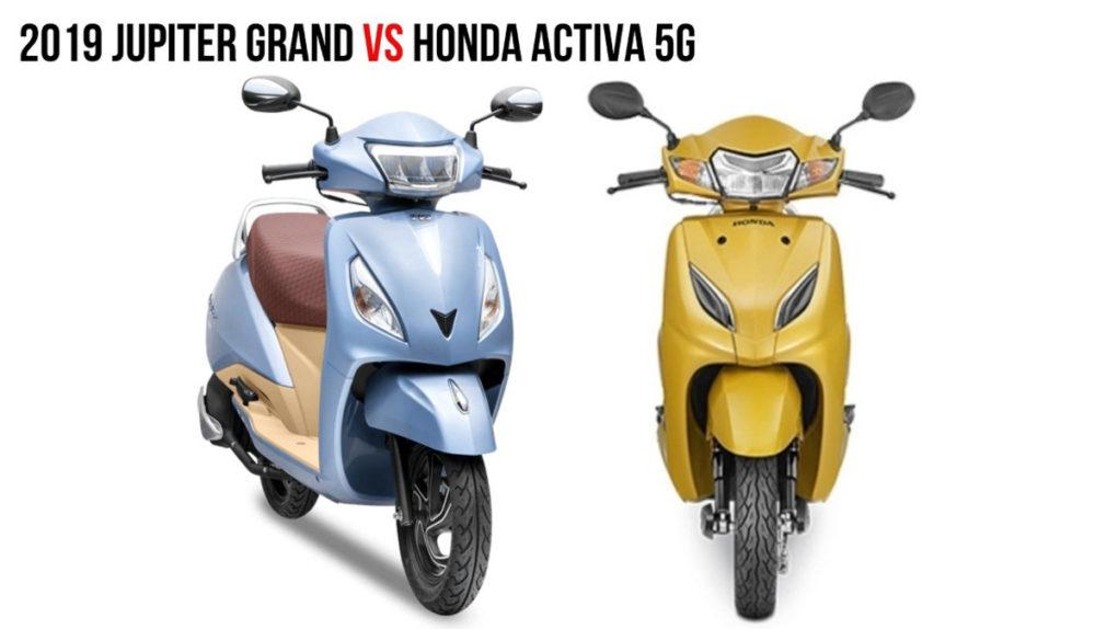 TVS Jupiter Grande Edition VS Honda Activa 5G 3