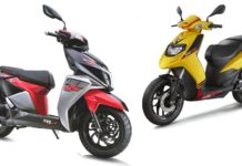 TVS Ntorq 125 Race Edition VS Aprillia SR125