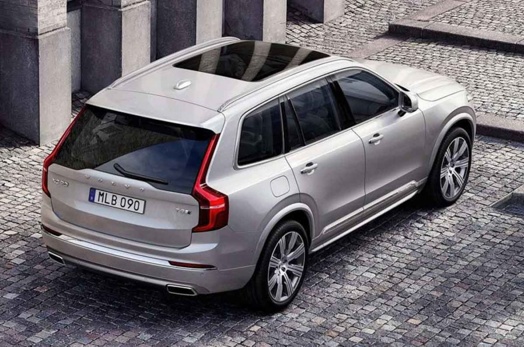 Volvo XC90 Excellence Lounge Console 1