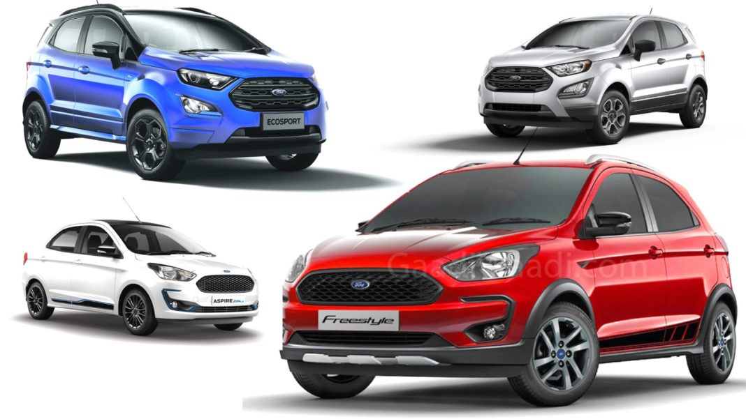ford cars india