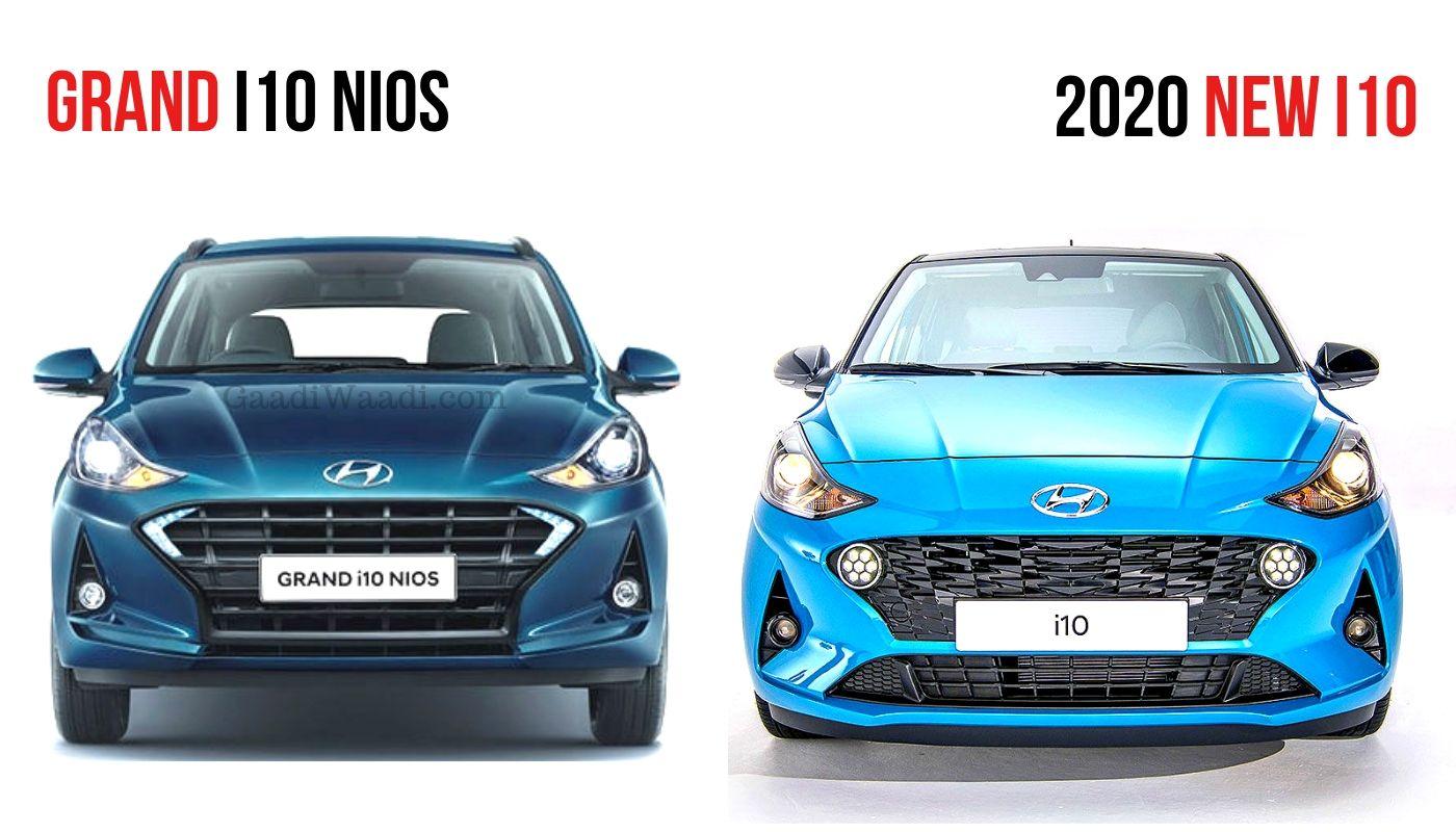 2020 Hyundai I10 Vs Grand I10 Nios Features Specs Comparison