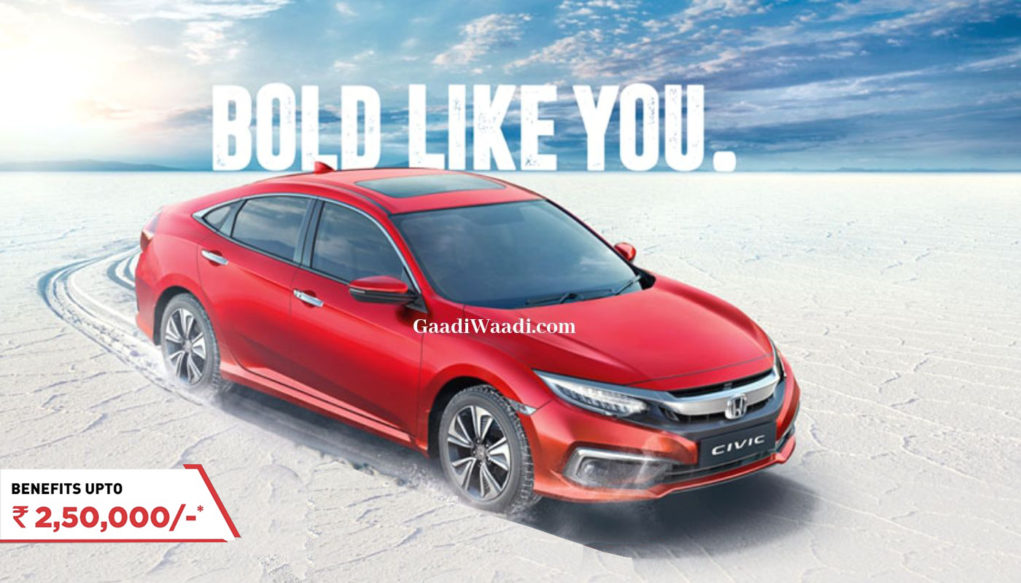 honda civic discount september 19