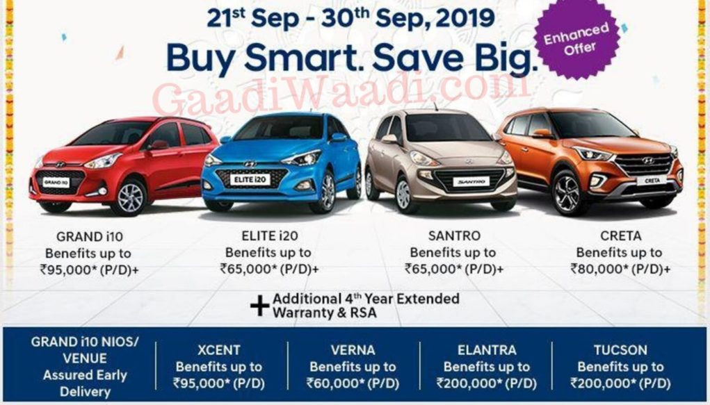 hyundai discount sep 2019