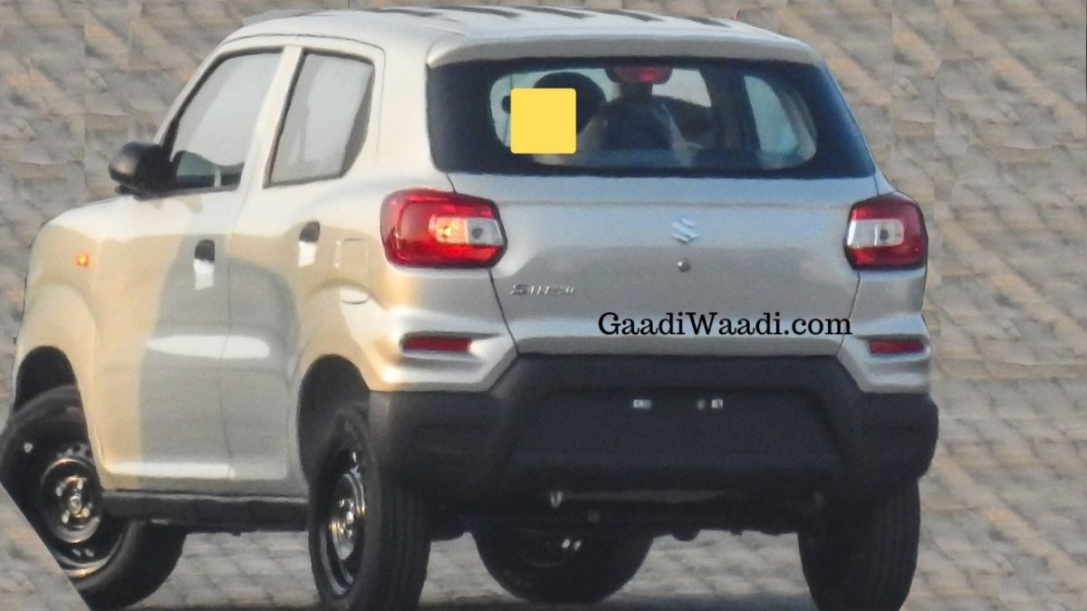 Upcoming Maruti S-Presso Spied In Silver Colour, Launch On 30th Sep - GaadiWaadi.com thumbnail