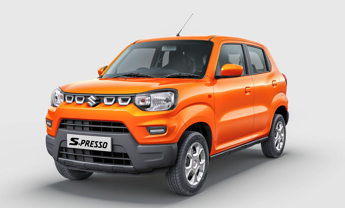 maruti suzuki s-presso launched in india
