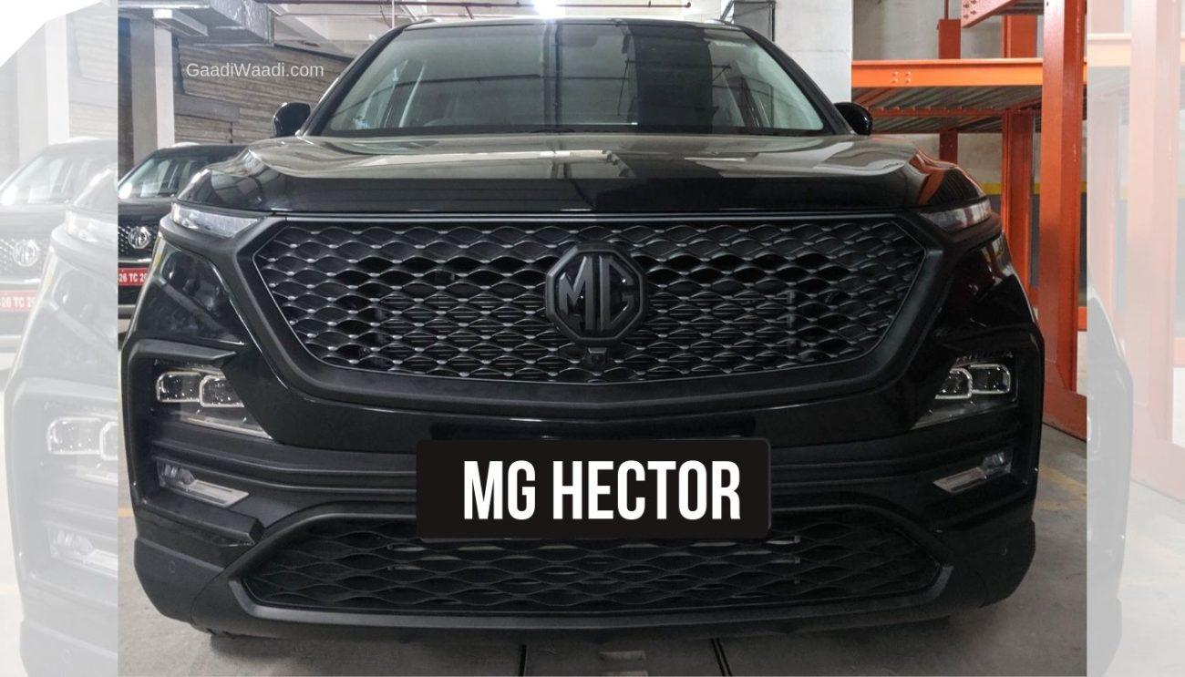 MG Motor Sells 3,021 Units of Hector SUV in December 2019 - GaadiWaadi.com thumbnail