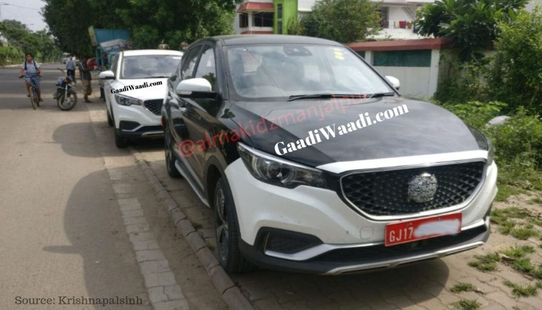 mg zs electric suv india1