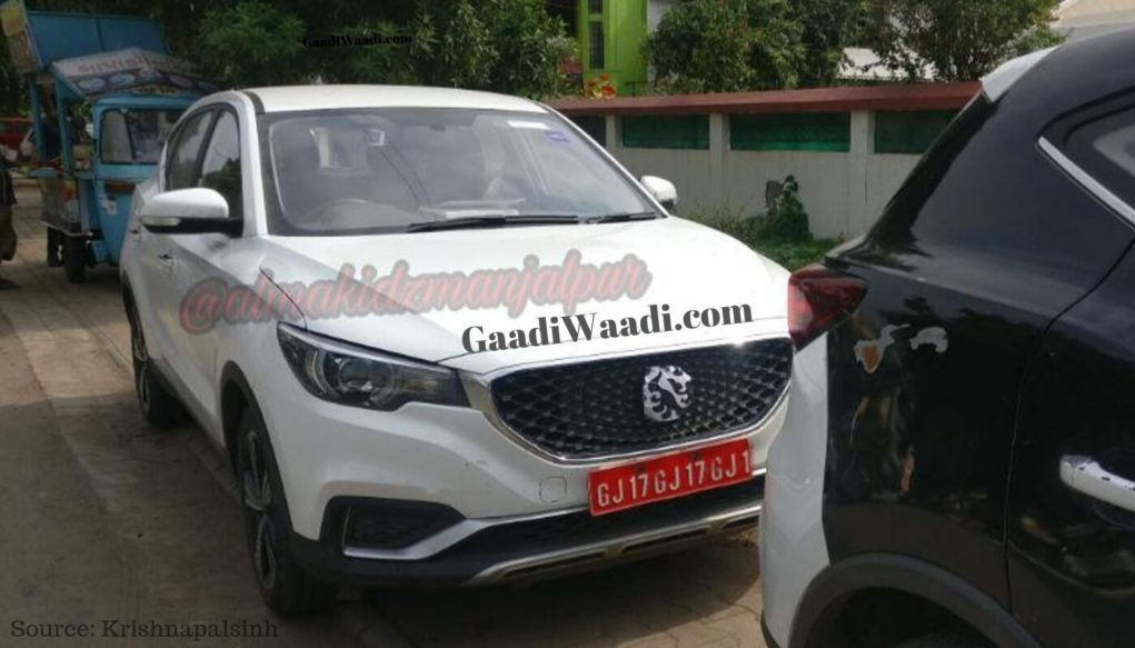 mg zs electric suv india2