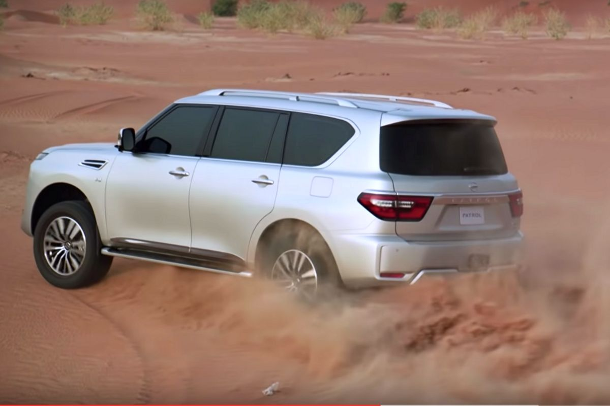 2020 nissan patrol commercial hits the internet