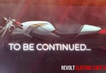 revolt Electric Café Racer