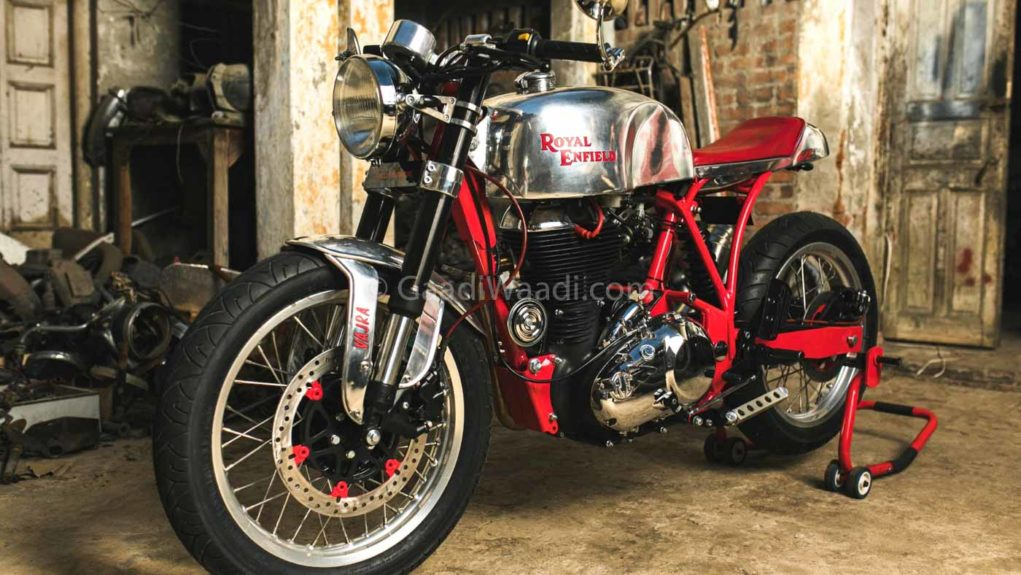 This Customised RE Classic 500 Can Outrace RE 650 Twin - Details