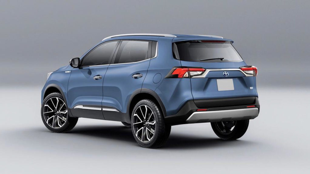 toyota compact suv rendered 1