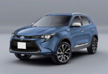 toyota compact suv rendered