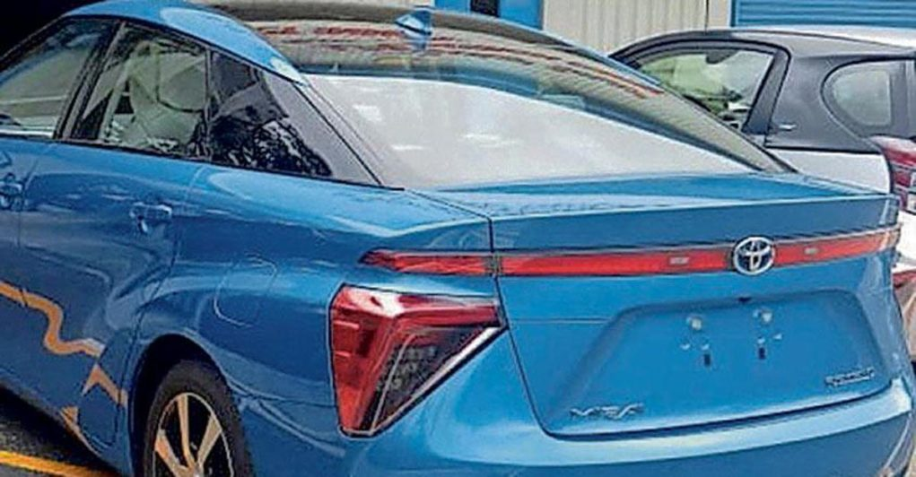 Toyota Mirai Fcv Arrives In India Launch Likely At 2020