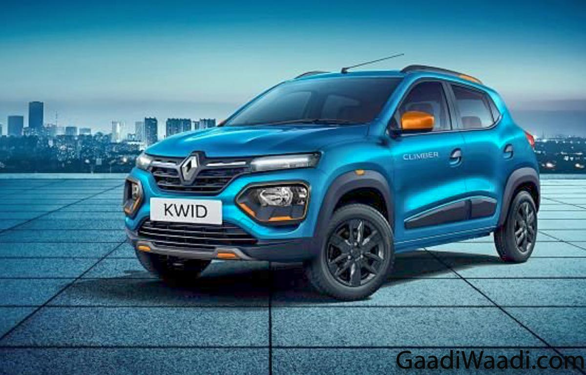 2020 Renault Kwid Facelift Launched In India At Rs. 2.83 Lakh