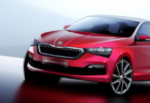 2020 Skoda Rapid Teased_
