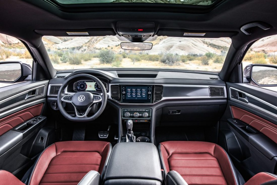 Volkswagen Unveils 2020 Atlas Cross Sport Coupe