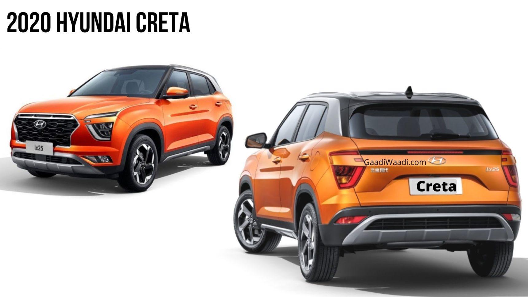 2020 Hyundai Creta Vs Current Gen Creta Specs Design Comparison