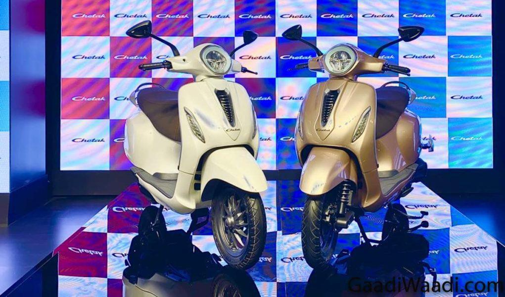 Bajaj Urbanite ChetakElectric Scooter 5