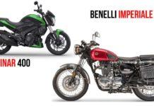 Benelli Imperiale 400 VS Bajaj Dominar 400