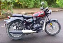 Benelli Imperiale 400 side