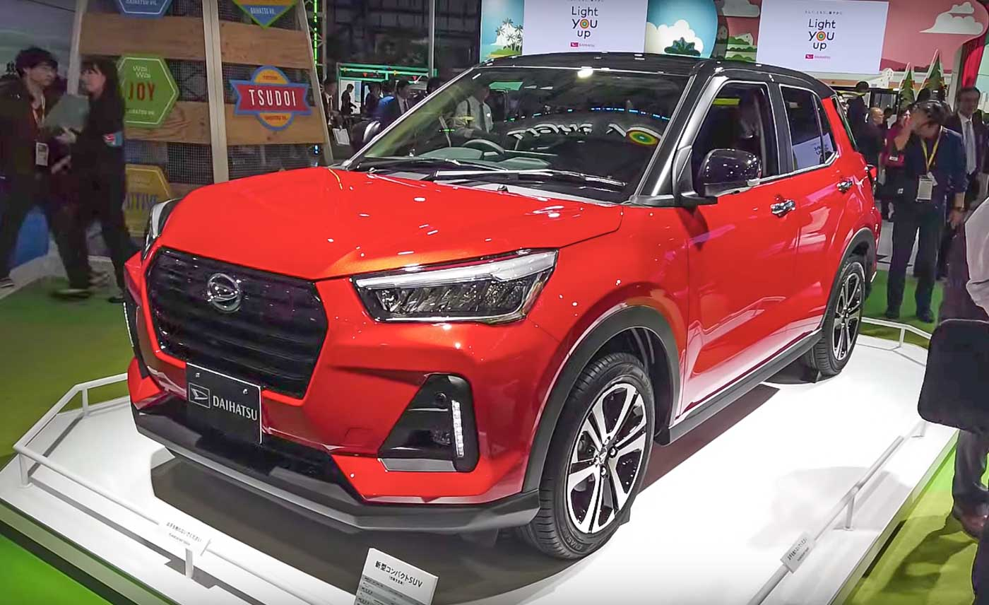 Toyota's Daihatsu Rocky Sub-4M SUV (Hyundai Venue Rival