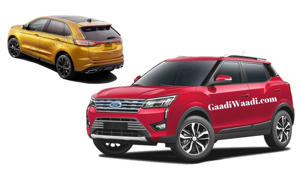 Ford-Mahindra JV To Launch 3 SUV Soon - Details