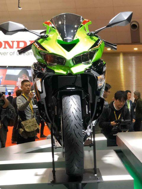 Kawasaki Ninja ZX-25R Front