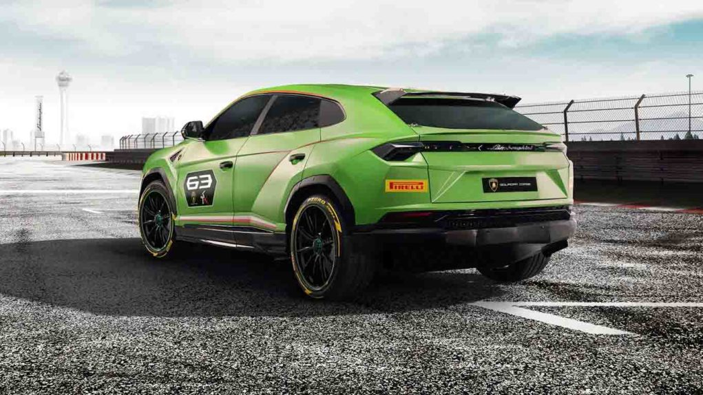 Lamborghini Urus ST-X, is said to the first Super SUV in the world of racing.