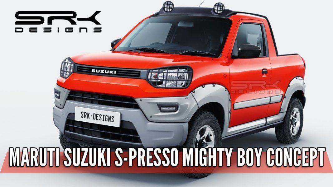 Maruti S-Presso Pickup Truck