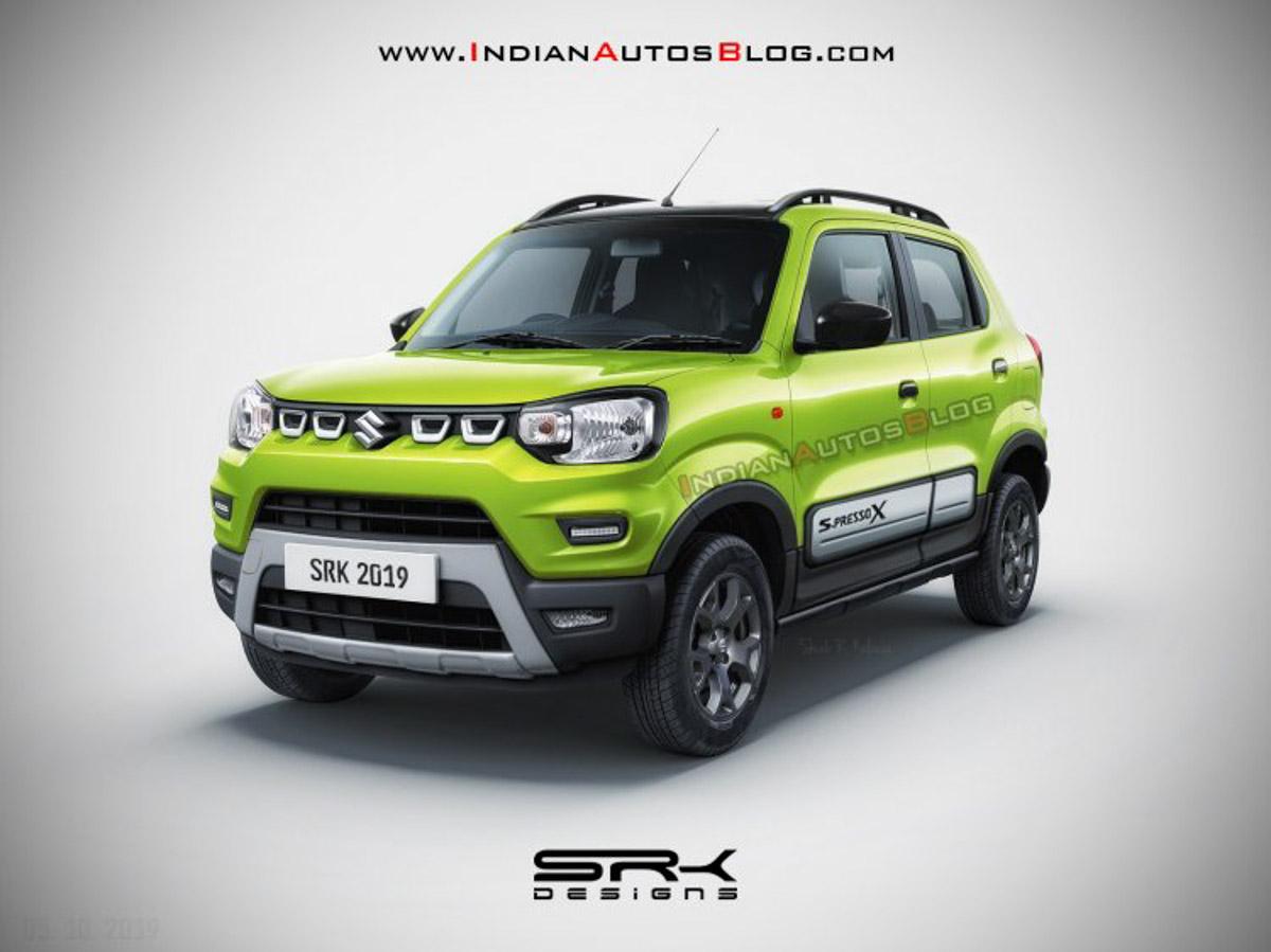 Country Auto Sales >> Maruti Suzuki S-Presso X Rendered With Rugged Exterior Updates